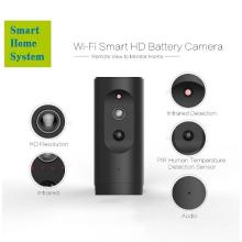 Caméra Ip sans fil intelligente d'appareil-photo d'Ip de mini Wifi 1080p Hd d'appareil-photo
