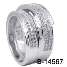 Bagues de mariage de bijoux en argent 925 Fashion (S-14567)