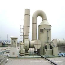 Утилизация газовых отходов кислотный туман газоочистки башня башня фрп очистка промышленных газов