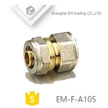 EM-F-A105 Hembra de rosca conector de latón conexiones de unión