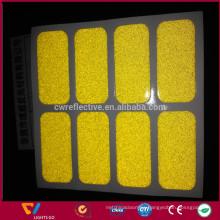 Custom Printed 3m die cut self-adhesive reflective vinyl PVC stickers