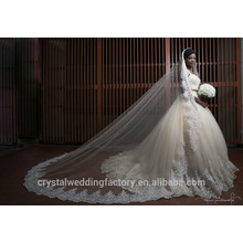 Latest Gowns Alibaba Elegant Sweetheart Two Pieces White A Line Wedding Dresses Vestidos de Novia with Heavy Beading 2016 LW256