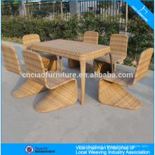 Synthetic Rattan Wicker Furniture Stylish Restaurant Furniture