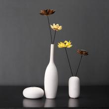White Ceramics vase house decoration