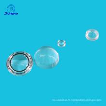 Lentilles à billes N-BK7 de 1,5 mm pour la communication par fibre optique