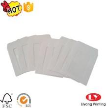 White Paper Envelope with PVC Window