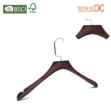 Роскошная вешалка для одежды из древесины для куртки