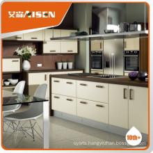 Professional mould design movable kitchen cabinets pvc