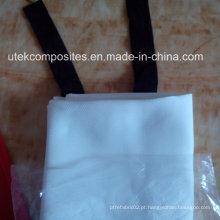 Silicone Revestido 1.2m * 1.2m Cobertor Resistente ao Fogo de Fibra de Vidro