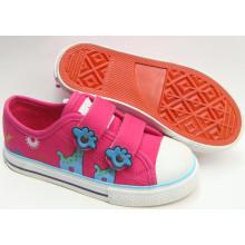2016 Chaussures de toile pour enfants design les plus populaires Chaussures vulcanisées (SNK-02040)