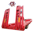 Hydraulic Ramps Low Bed Trailer