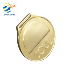 Wholesale latest OEM matt Custom Medal Neck Ribbon Pendants Wholesale Jewel Medal