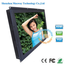 Brilho alto monitor do diodo emissor de luz de TFT LCD do quadro aberto de 26 polegadas com porto de HDMI VGA