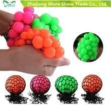 Nueva Anti Stress Reliever Grape Ball Autismo Mood Squeeze Relief Juguetes Adhd