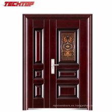 TPS-046sm Grosor de 45 mm, una y media puerta, puerta de acero con borde