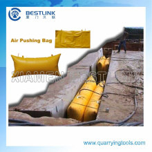 Manufactory Pushing Air Bag for Marble Block Cutting
