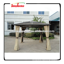 Shinygarden Heavy Duty Galvanized Steel Hardtop Patio Gazebo