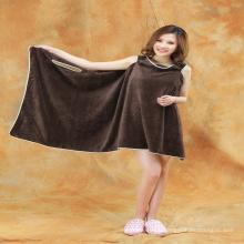 nuevo diseño al por mayor 100% algodón mujeres hotel toalla de baño / baño vestido / toalla de baño vestido