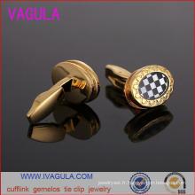 Vérifier la VAGULA nouveau bouton mariage chemise poignets Gemelos boutons de manchettes (L51922)