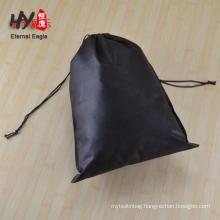 custom logo non woven popcorn decorative reusable drawstring bag