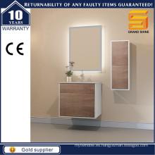 Unidad moderna de la vanidad del cuarto de baño de la pared de la melamina para el estilo australiano