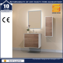 Modern Melamine Wall Mounted Bathroom Vanity Unit for Australian Style