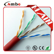 made in China ethernet cable5e EIA/TIA-568B Standards 1000ft/carton
