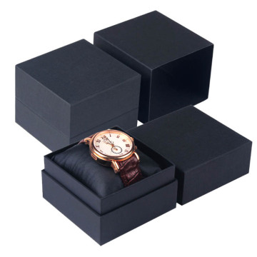 Black Paper Watch Smycken Packaging Box