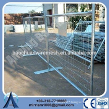 temporary steel construction fence with high quality and competitive price