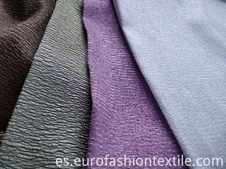 Plisse Two Tone Satin Fabric
