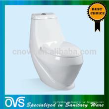 ovs washdown huevo de cerámica en forma de tocador de una sola pieza china