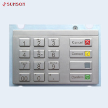 Waterproof USB Pinpad Keypad Encrypted With 16 Metal Button