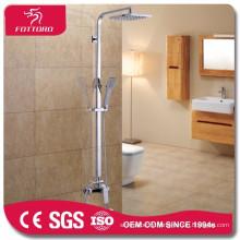 Douches de salle de bain en laiton chromé
