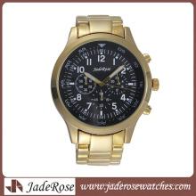 Высокое качество Мужская мода часы Кварцевые бизнес-часы