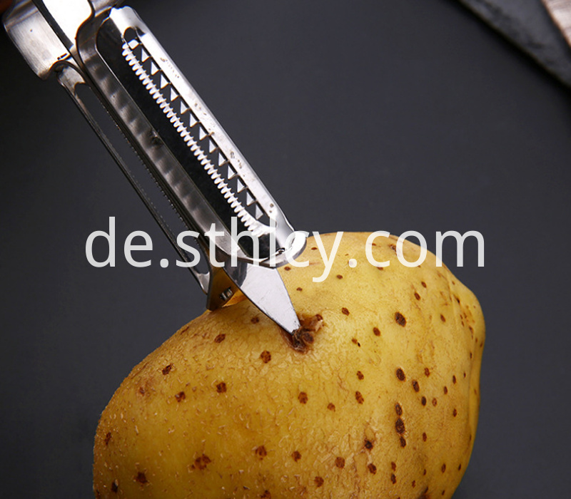 410 stainless steel fruit peeler