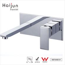 Haijun Garantia de Qualidade Modern Health Single Handle Wall Mount Basin Faucet