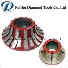 Инструмент электроинструмент станки с ЧПУ Сегментного профиля алмазного круга с ЧПУ