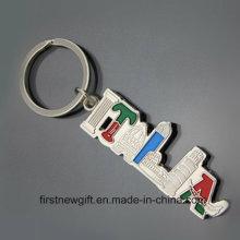 Италия Сувенир Подарочный тур Продукт Брелок Подгонянная ключевая цепь (F1423)