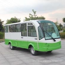 Ce Certificate 14 Asientos Mini Bus Eléctrico con Puerta Cerrada Cerrada (DN-14F)
