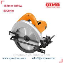 Lâmina de serra circular máquina de afiar 185mm 1050w 5000r / m qimo ferramentas eléctricas