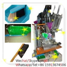 Fabricante de la máquina del cepillo del cleaoting del cepillo de 2 ejes / cepillo que hace la máquina