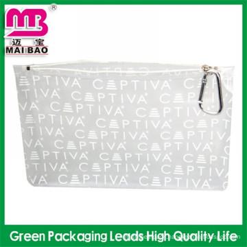 beautiful and charming 2014 mesh cosmetic bag zipper