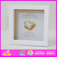 2014 Hot Sale New High Quality (W09A018) En71 Light Classic Fashion Picture Photo Frames, Photo Picture Art Frame, Wooden Gift Home Decortion Frame