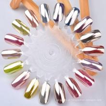 Pigmento do efeito do espelho do prego, pigmento do prego do espelho do cromo, pigmento do cromo do espelho