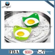 Silicona huevo frito huevo titular de forma triángulo se05