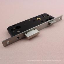 Negro estrecho 3085 europeo claveteado puerta de cerradura de la cerradura del cuerpo con alta seguridad