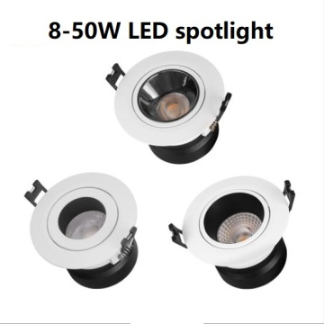 8W-50W COB LED spot light