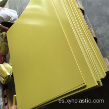 3240 Yellow Epoxy Glass Resin Plate Sheet