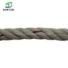 PP Mono/Polypropylene/Plastic/Fishing/Marine/Mooring/Twist/Twisted Beige Danline Rope for Myanmar, Cambodia