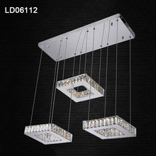 rings crystal light pendant lamp led lamp